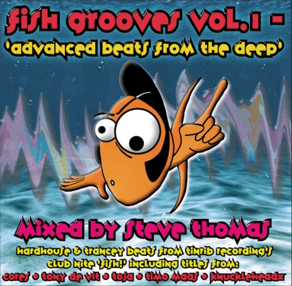 Tinrib Recordings - Fish Grooves Vol 1 CD - Mixed By Steve Thomas