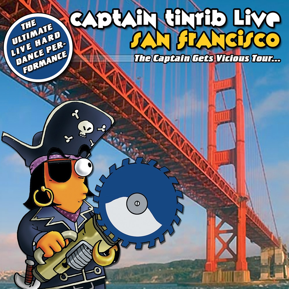 Captain Tinrib Live - San Francisco