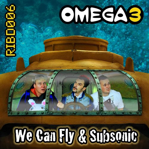 RIBD006 - Omega 3 - We Can Fly / Subsonic