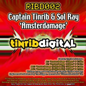 RIBD002 - Tinrib Digital - Captain Tinrib And Sol Ray - Amsterdamage