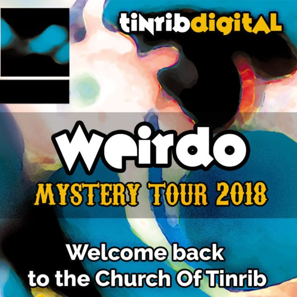 Weirdo - Mystery Tour 2018 - Square Blue - Initial Cover
