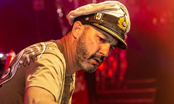 Captain Tinrib Live At Frantic 21 (2018) - Koko London sailing with Eric Topp Replica U-Boat Captain Hat