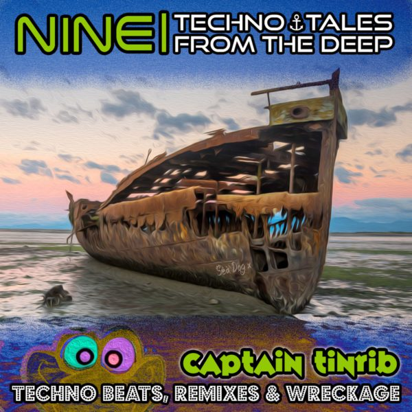 Nine | Techno Tales From The Deep Album Cover