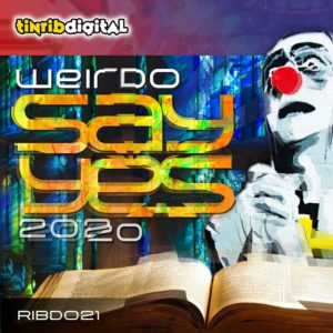 RIBD021 - Tinrib Digital - Weirdo - Say Yes 2020 Record Cover